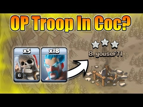 Ice Wizard + Giant Skeleton = OP Army In Clash of Clans? | Let's Use Those 2 Troops