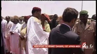 [Voyage de Nicolas Sarkozy au Niger]