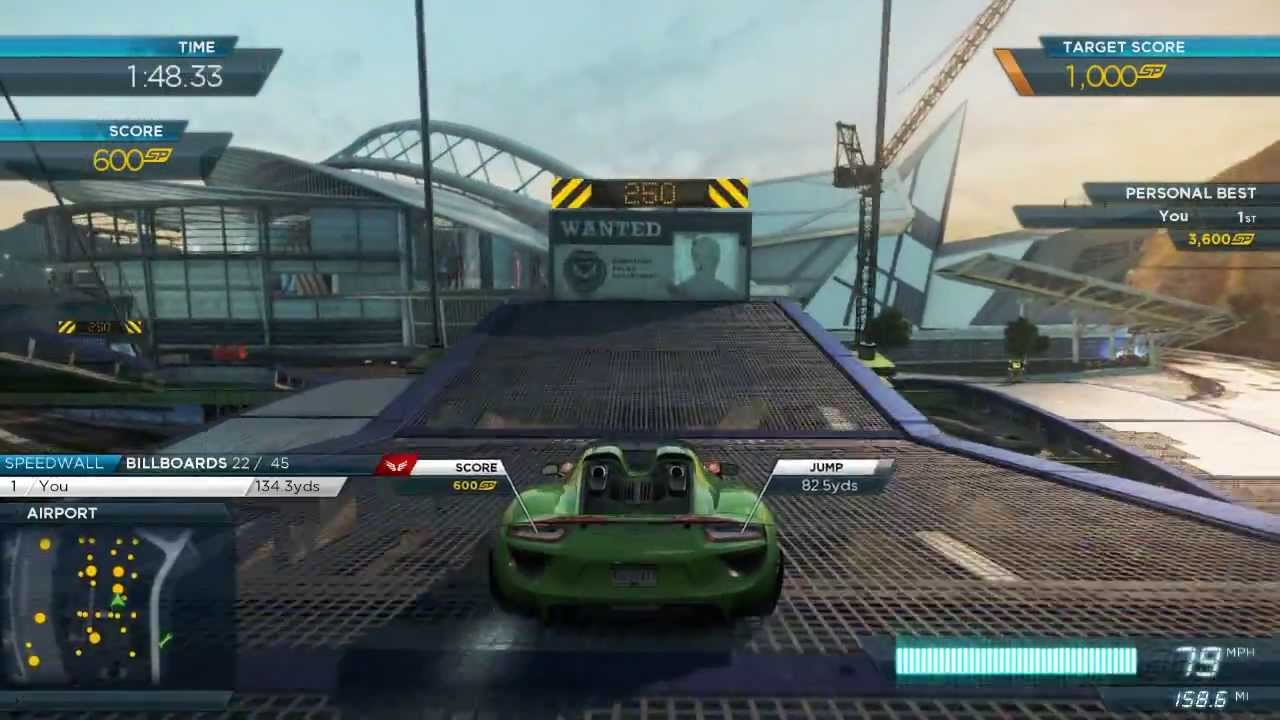 nfs most wanted 2012 all 2013 porsche 918 spyder events with full pro mods. Black Bedroom Furniture Sets. Home Design Ideas