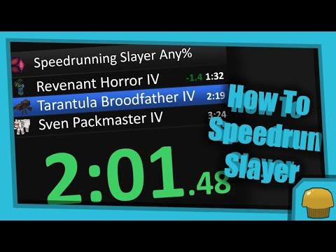 How To Speedrun Slayer - Hypixel Skyblock