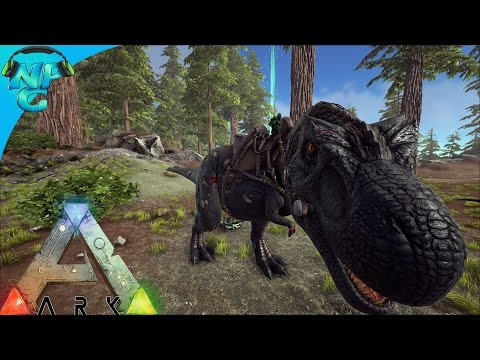 S1E2 The Beginning of our Tek Rex Army! ARK: Future Evolved PVP