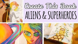Hey Guys! Here is yet another episode of Create This Book! I really loved the pages that I did in this episode, I hope you did too! DON'T FORGET TO ...