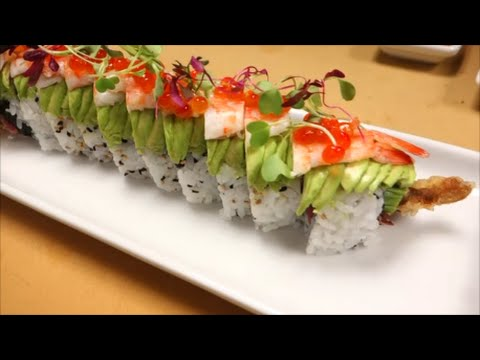 Surf and Turf Roll - How To Make Sushi Series