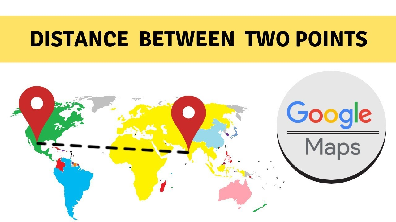 Distance Between Locations Google Maps on