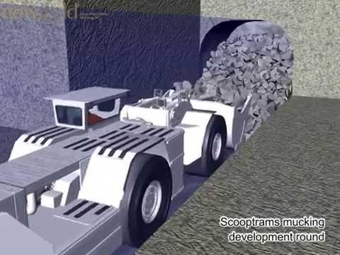 Newgold Block Caving video