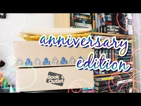 Book Haul Unboxing #75: Anniversary Edition (July 2014)
