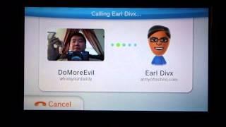 Nintendo Wii U - Testing out Wii U Chat