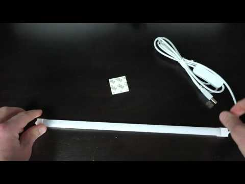 Qooltek USB LED Strip Light Review and Unboxing