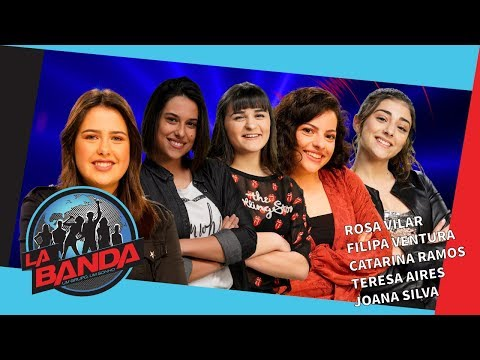 Filipa Ventura, Catarina Ramos, Joana Silva, Rosa Vilar e Teresa Aires | PGM 02 | La Banda Portugal