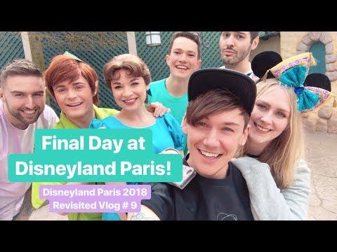 Vlog #9 | The Final Day! Meeting Peter Pan & Wendy, Hook & Smee! | Disneyland Paris Revisited 2018
