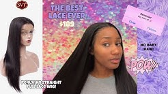 SVT HAIR   (22 INCHES ONLY $189) SUPER EASY & INEXPENSIVE PERUVIAN STRAIGHT FULL LACE WIG!
