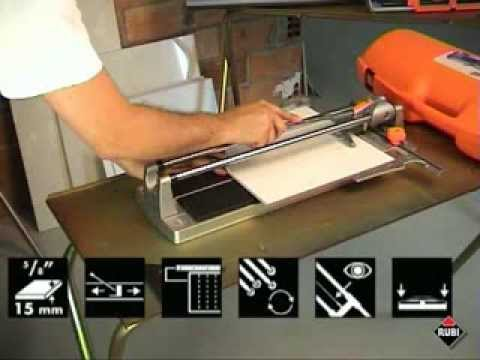 Rubi Speed Manual Tile Cutter - Speed 62, Speed 72, Speed 92