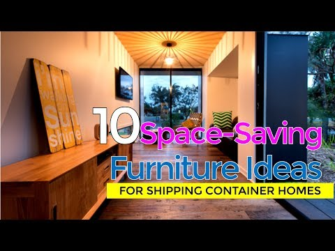 10 Modern Space Saving Furniture Design Ideas For Shipping Container Homes