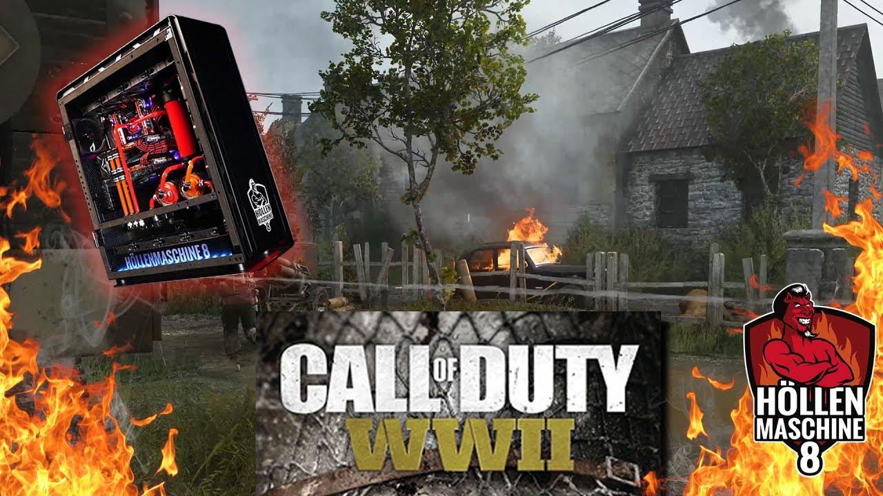 Call Of Duty Wwii Mit 400 Skalierung Auf Der Höllenmaschine 8
