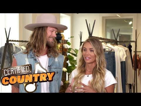 Inside Florida Georgia Line's Brian Kelley's Fashion Empire With Wife Brittney | Certified Country