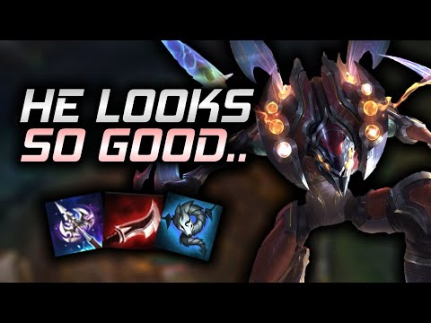 2.5 Million Mastery Kha'Zix Main tries the new Odyssey skin.
