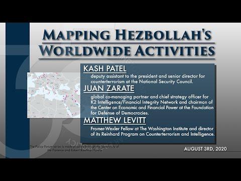Global Website Premiere: Mapping Hezbollah's Worldwide Activities