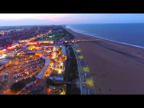 Skegness Lights From The Air
