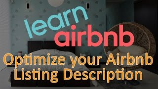 Gambar cover Airbnb Listing Description Optimization - Airbnb Hosting Tips