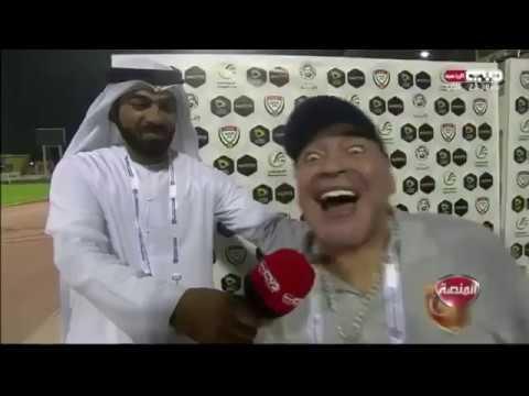 Maradona re loco anuncia que se quedara en Fujairah