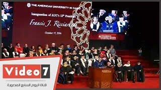 رئيس الجامعة الأمريكية الجديد: أزمة الدولار تؤثر على جودة التعليم بالجامعة