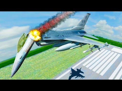 Fighter Jet Ripped Apart Mid Flight - Disassembly 3D New Update Gameplay