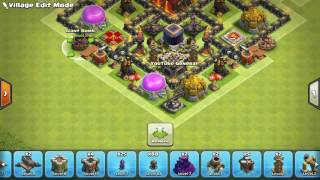 Clash of Clans New Update TH10 Farming Base With 275 Walls CoC Town Hall 10 Base 2016 You