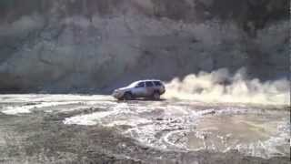 Mudding in a 2004 Jeep Grand Cherokee Limited V8 4X4 Quadra Drive in San Gabriel Valley