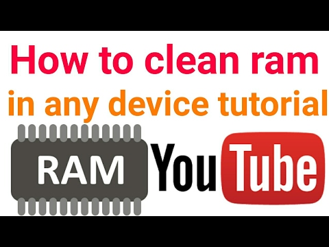 How to clean ram in android and any device
