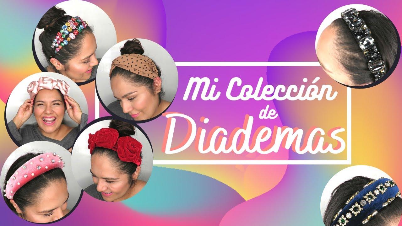 TE MUESTRO MI COLECCIÓN DE DIADEMAS!! || Clan de Belleza