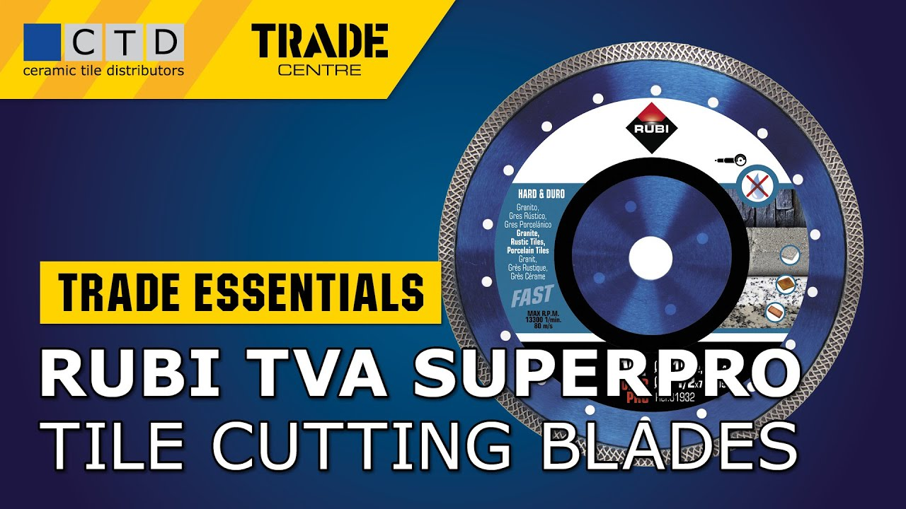 Rubi TVA Superpro Turbo Viper Diamond Blade