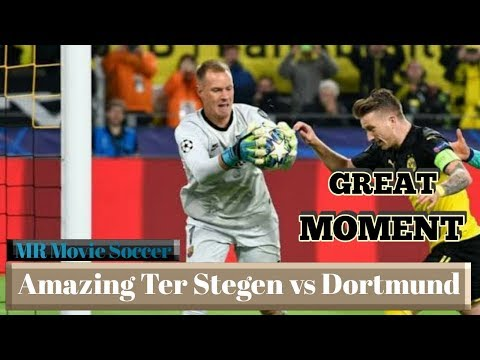 Amazing Marc Andre Ter Stegen vs Borussia Dortmund | Liga Champions 2019/2020