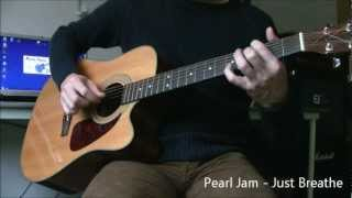 How to play Just Breathe on guitar ★ Eddie Vedder ★ Pearl Jam ★ Fingerstyle Guitar lesson +Tab