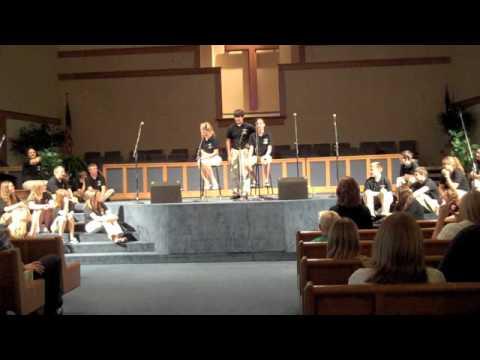 Sammie Cockrell, Katie Walsh, Jason Flores Skit FBC Fenton Youth Choir