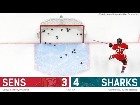Dec 14: Sens vs. Sharks - Post-game Media