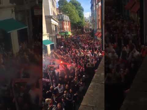 10.000 Kölner in London - Arsenal London - 1. FC Köln [14.09.2017]
