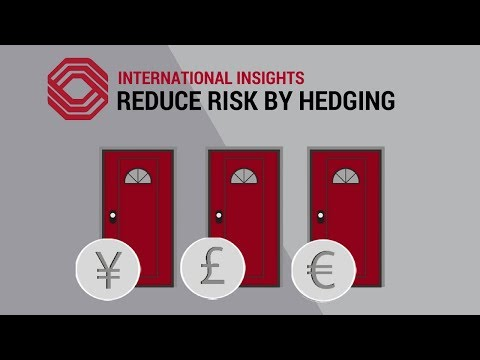 Reduce Risk By Hedging