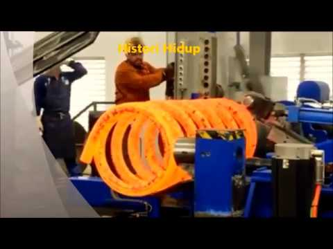 extreme hot wound spring for subsea oli and gas industry (1000 lbs)