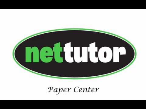 NetTutor® Paper Center