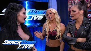 Paige welcomes Mandy Rose & Sonya Deville to Team Blue: SmackDown LIVE, May 1, 2018