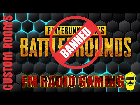 PUBG Ban IN PAKISTAN   ROAD TO 20K LIVE CUSTOM ROOM PAKISTAN | INDIA | FM RADIO GAMING |GG  | PUBGMO