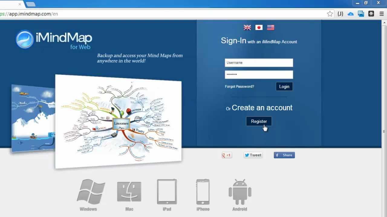 imindmap for web - Imindmap Cloud