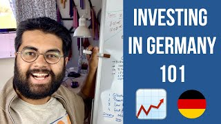 How to Start Inveṡting in Germany for Beginners: Depots, Taxes, Stocks and ETFs! 🇩🇪