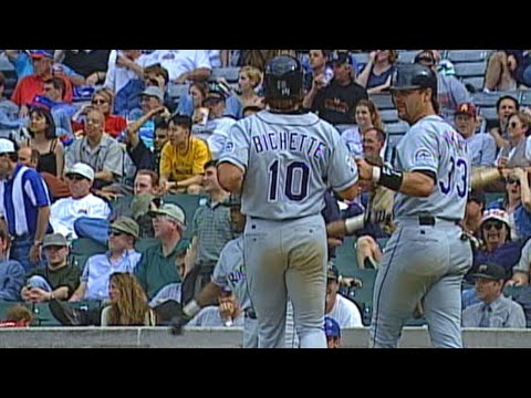 COL@CHC: Rockies score in every inning vs. Cubs