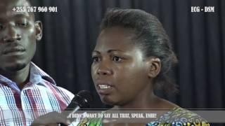 JINI ATOKEA LIVE KANISANI BAADA YA MAOMBI YA CHIEF APOSTLE MTALEMWA BUSHIRI