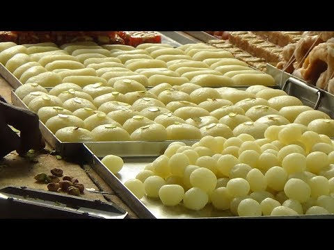 Rasgulla Sweet Making | Rasgulla Recipe | Bengali Sweet | Indian Sweets Making Video