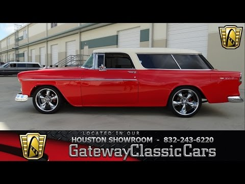 1955 Chevrolet Nomad - Gateway Classic Cars of Houston - Stock 458-HOU
