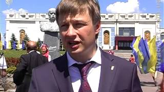 ЖОДТРК. Новини. В Чуднові відкрили пам`ятник Т.Ш.Шевченку(, 2014-05-23T11:32:54.000Z)