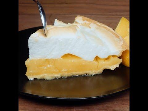 Zitronen Meringue Kuchen Luftig Lecker Youtube
