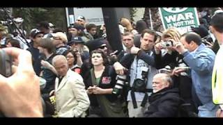 vuclip We Are Change LA - Hollywood anti-war demonstration - Documentry